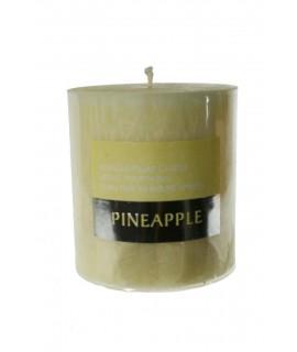 Bougie parfumée à la noix de coco exotique et tropicale d'une durée de 50 heures