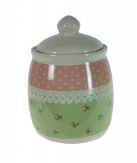 Azucarera de cerámica nostalgia