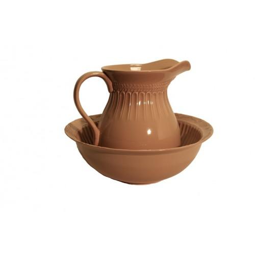 Palanganero de cerámica