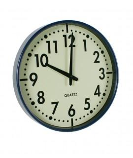 Rellotge de paret blau
