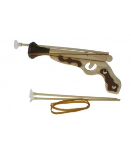 Pistolet en bois