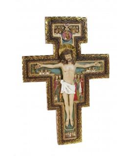 Crucifijo de San Damián. Medidas: 28x19x4 cm.