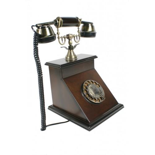 Teléfono de madera