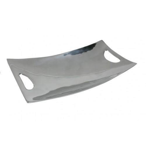 Bandeja vacía bolsillos rectangular de aluminio