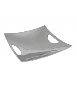 Bandeja cuadrada de aluminio