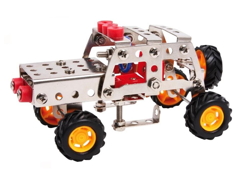 Juego de construcción y bricolaje vehículo coche jeep para montar