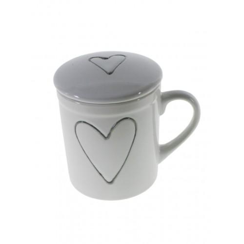 Mug Te con Tapa y Filtro