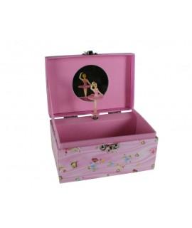 Caja de música mariposa
