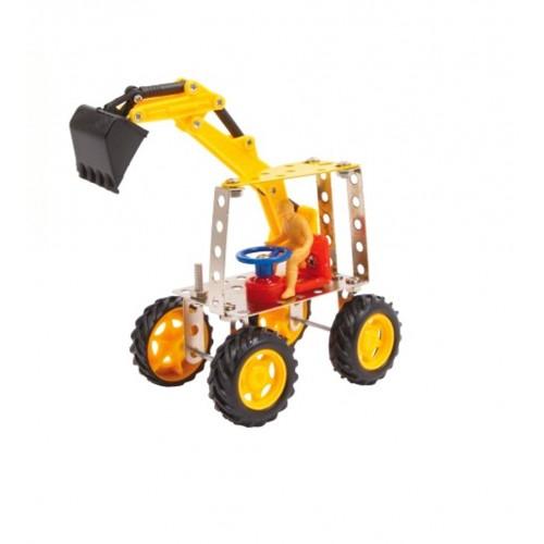 Juego construcción bricolaje excavadora desarrollar la coordinación