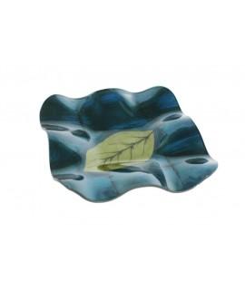 Vaciabolsillos de vidrio ondulado