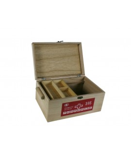 Caja madera medicinas