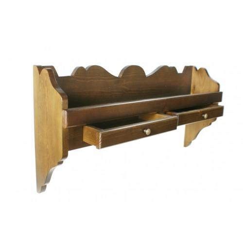 Estantería platero de madera