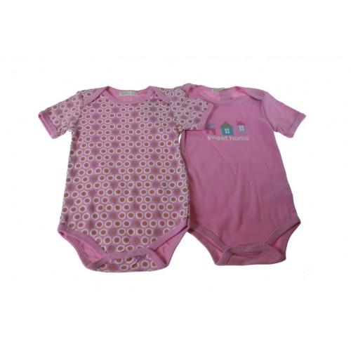 Body infantil color rosa