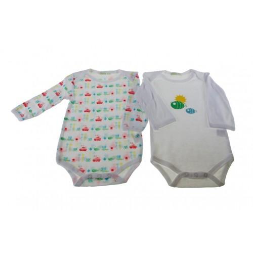 Body infantil color blanco 6-9 meses