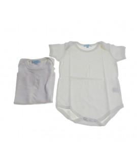 Body infantil color blanc 12 mesos