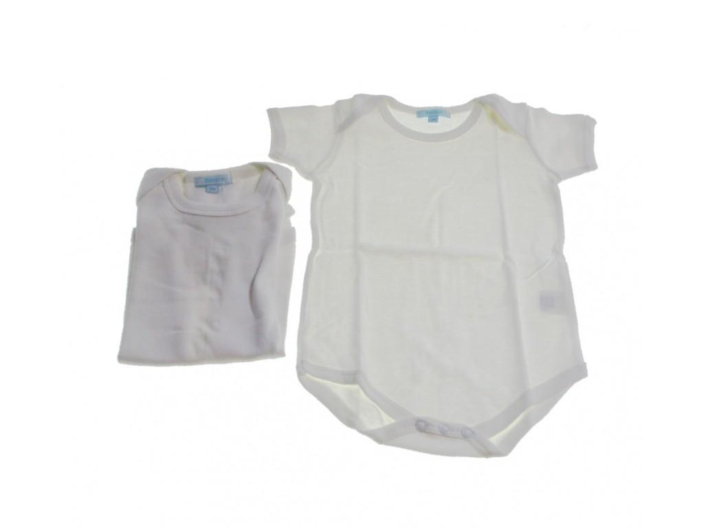 Body infantil color blanco 12 meses