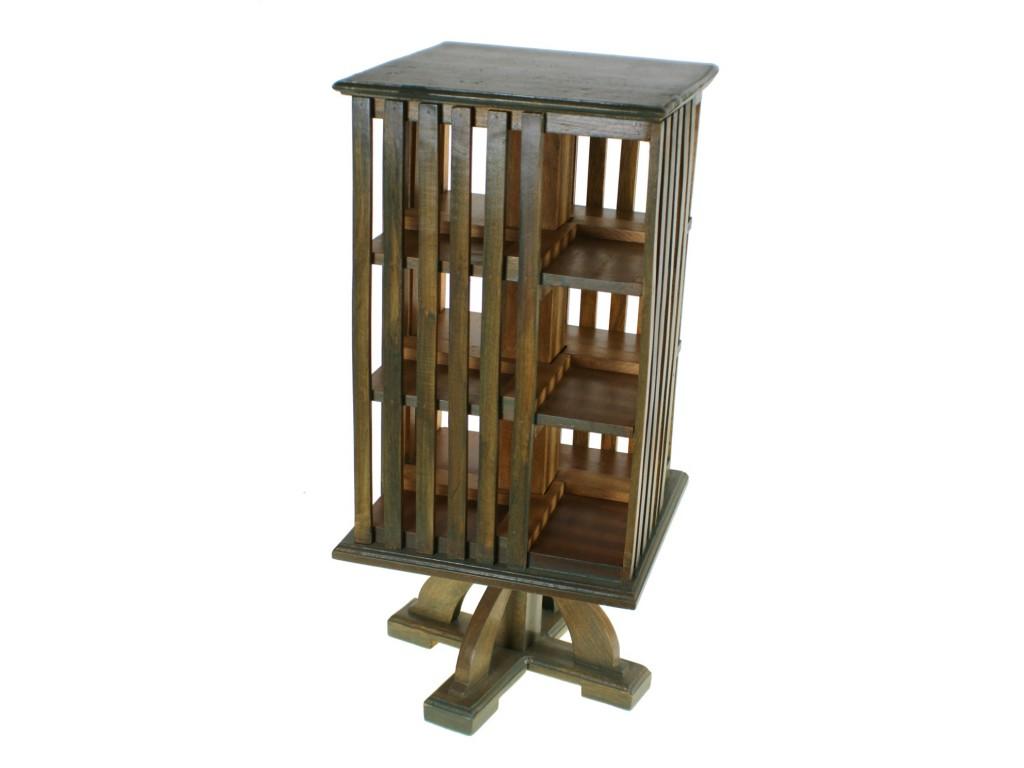 tag re pivotante en bois pour cd. Black Bedroom Furniture Sets. Home Design Ideas