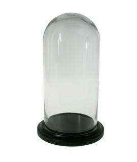 Campana de cristal 30 cm.
