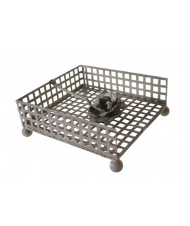 Porte-serviettes de table pour ustensiles de cuisine individuels gris