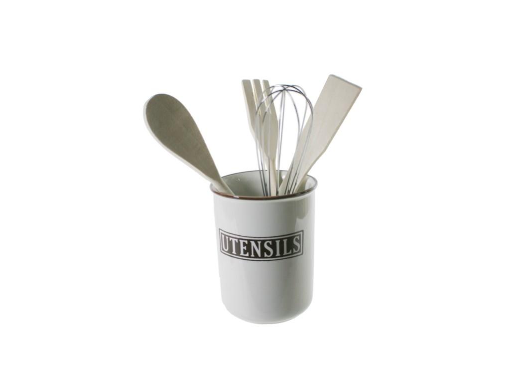 Bote utensilios de cocina for Utensilios de cocina de ceramica