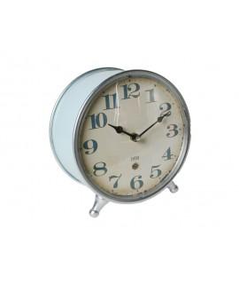 Reloj de sobremesa color azul estilo vintage números grandes