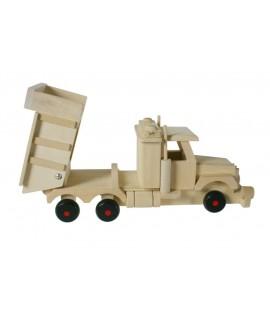 Camió fusta de faig amb bolquet
