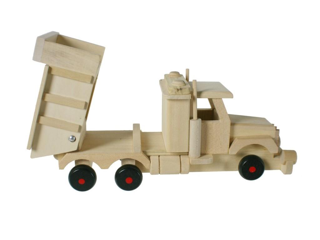 Camión madera de haya con volquete