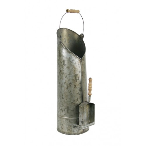 Recogedor de ceniza con pala para chimenea