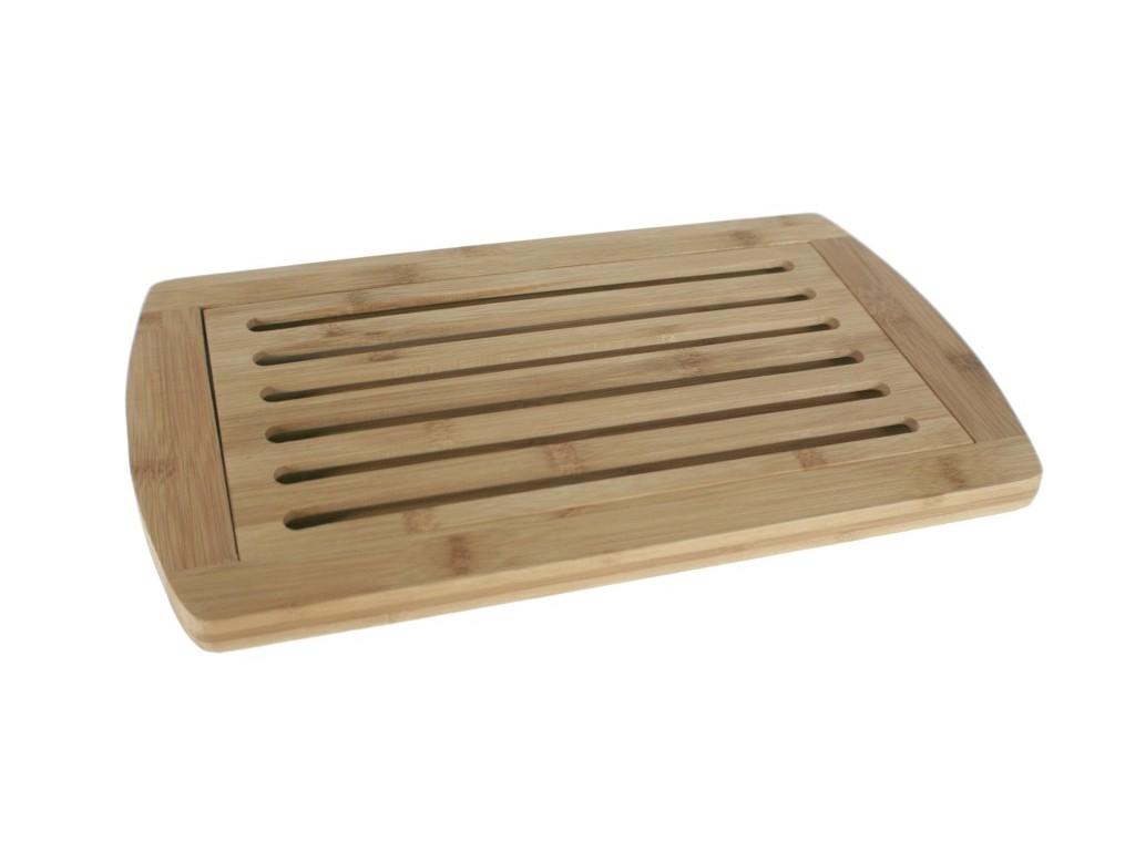 Planche de bois avec grille de planche pain for Planche en bois cuisine