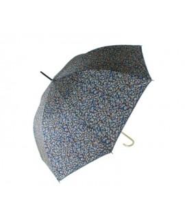 Paraguas de Señora  estampado en flores multicolor.  Medidas: 90x Ø102 cm.