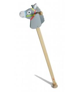 Cavallet de pal de fusta Linus. Mesures: 96x22x20 cm.