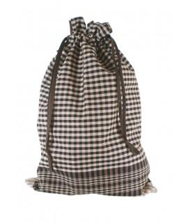Bolsa para el pan en tela de fardo, 100% algodón. Medidas: 53x35 cm.