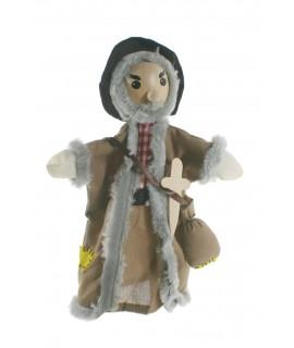 Títere de mano con cabeza de madera Ladrón