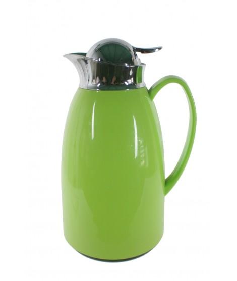 Termo de 1L estilo vintage color verde para bebidas frías y calientes bebida de té, café, agua, útiles de mesa y cocina original