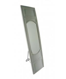 Mirall per vestidor de fusta tipus porta. Medidas.174x43x6 cm.