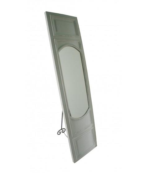 Espejo para vestidor de madera tipo puerta. Medidas.174x43x6 cm.