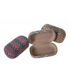 Boîte à pilules zigzag. Mesures: 9x6 cm.
