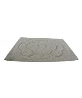 Alfombra baño algodón 300gr. color marfil. Medidas: 60x40 cm.