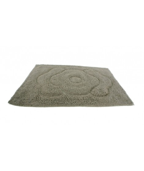 Catifa bany cotó 300gr. color gris. Mesures: 60x40 cm.