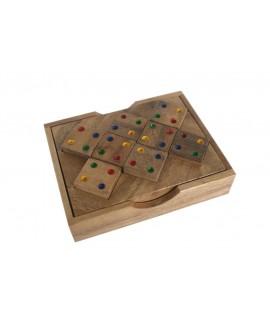Kalame Jeu en bois pour un seul joueur. Mesures: 3x11x9 cm.