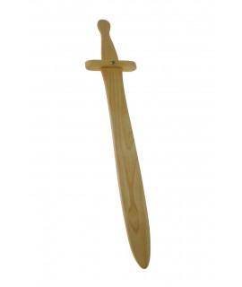 Espasa de fusta Rolando de Bremen. Mesures: 50x11 cm.