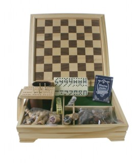 Set de jocs amb caixa